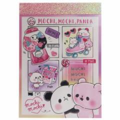 もちもちぱんだ メモ帳 ミニミニメモ カラーテーマ ピンク 新学期準備雑貨 キャラクター グッズ メール便可
