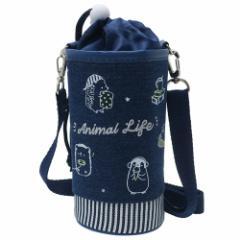 ペットボトルホルダー ANIMAL LIFE 保冷 ボトルケース 2019SS ショルダーストラップ付き キャラクター グッズ
