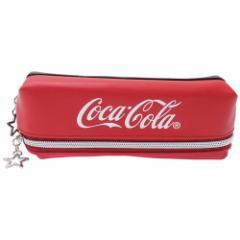 コカコーラ 筆箱 2ルーム ペンケース シンプル 新学期準備雑貨 ギフト雑貨 グッズ