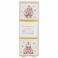 カナヘイの小動物 入浴剤 フレグランス バスキューブ 3個セット モモタロうさぎ&おにピスケ LINEスタンプ グレープフルーツの香り