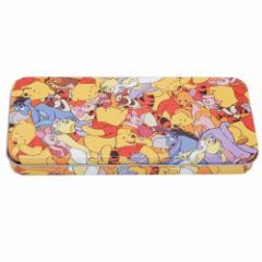 くまのプーさん 缶 ペンケース キャラ カンペン ぎっしり ディズニー 新学期準備雑貨 キャラクター グッズ