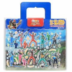 騎士竜戦隊 リュウソウジャー ミニシール セット ヒーロー 図鑑シール バッグ 玩具 特撮ヒーローキャラクター グッズ