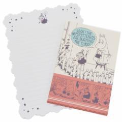 ムーミン 手紙セット レターセット コミック 北欧 便箋 封筒 キャラクター グッズ メール便可