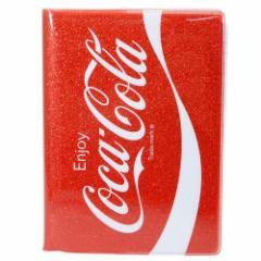 コカコーラ リング ノート グリッター A6 Wリング ノート レッド 新学期準備雑貨 キャラクター グッズ