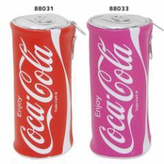 コカコーラ 入学準備 筆箱 ペンケース 缶型 ペンポーチ 新学期準備雑貨 キャラクター グッズ