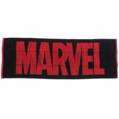 MARVEL マフラータオル タオルバンド付き スリム ロングタオル フル マーベル 31×90cm キャラクター グッズ