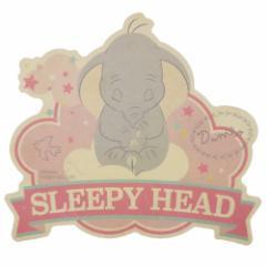 ダンボ ビッグシール トラベル ステッカー 3 SLEEPY HEAD ディズニー 耐水 耐光 キャラクター グッズ メール便可