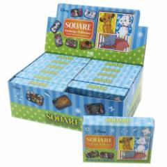 ディズニー 缶バッジ スクエア カンバッジ コレクション 全12種 Disney クラシックス プチギフト キャラクター グッズ メール便可