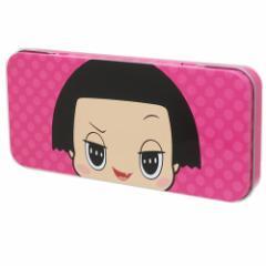 チコちゃんに叱られる 缶 ペンケース キャラ カンペン チコちゃんフェイス NHK 新学期準備雑貨 キャラクター グッズ