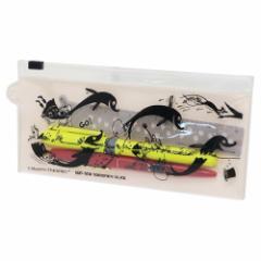 ムーミン ステーショナリーセット スライダーケース付き ペン 定規 セット ホワイト 北欧 メール便可