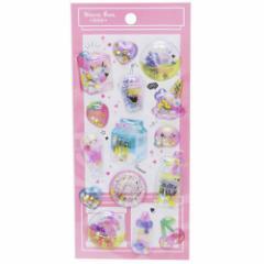 ピンクドリンク シールシート スパークルキャッチシール DECOシール コレクション雑貨 グッズ メール便可