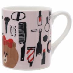 ラインフレンズ マグカップ 陶磁器製 MUG チョコ コスメ LINE FRIENDS かわいい キャラクター グッズ