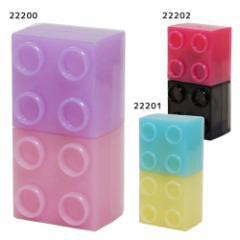 テープのり 糊 ブロック型 2トーンカラー 新学期準備雑貨 おもしろ雑貨 グッズ メール便可
