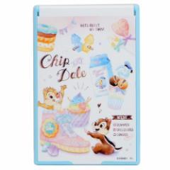 チップ&デール 手鏡 折りたたみ カード ミラー M 2019SS ディズニー 7.5×11.4cm キャラクター グッズ メール便可