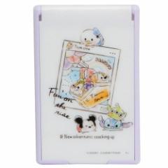 ディズニーツムツム 手鏡 折りたたみ カード ミラー S 2019SS ディズニー 5.5×8.5cm キャラクター グッズ メール便可