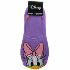 デイジーダック 女性用 靴下 レディース フットカバー ディズニー 23〜25cm キャラクター グッズ メール便可