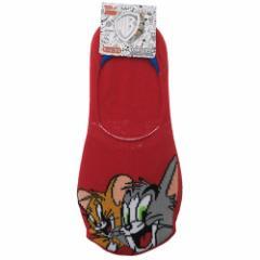 トムとジェリー 女性用 靴下 レディース フットカバー コンビ 23〜25cm キャラクター グッズ メール便可