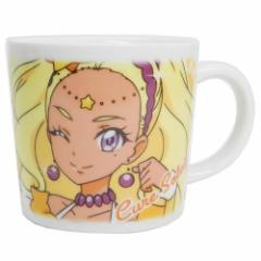 スタートゥインクルプリキュア マグカップ 磁器製 フェイス マグ S キュアソレイユ 女の子向け アニメキャラクター グッズ