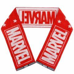 MARVEL マフラータオル ジャガード スリム ロングタオル ロゴ スター マーベル 15×120cm キャラクター グッズ メール便可
