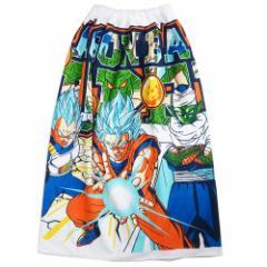 ドラゴンボール超 ラップタオル 80cm丈 巻きタオル 2019SS サマーレジャー用品 アニメキャラクター グッズ