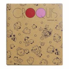 星のカービィ お絵描き帳 クロッキーブック PUPUPU FRIENDS 総柄 日本製 キャラクター グッズ