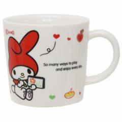 マイメロディ マグカップ 磁器製 マグS お絵かき サンリオ 日本製 キャラクター グッズ