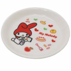 マイメロディ 小皿 10.5cm ミニプレート お絵かき サンリオ 日本製 キャラクター グッズ