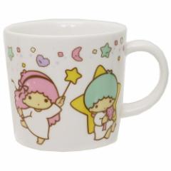リトルツインスターズ キキ&ララ マグカップ 磁器製 マグS スタードリーム サンリオ 日本製 キャラクター グッズ
