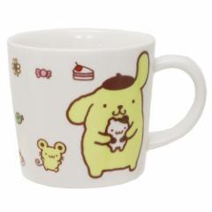 ポムポムプリン マグカップ 磁器製 マグS スイーツ&プリン サンリオ 日本製 キャラクター グッズ