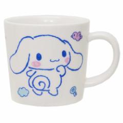 シナモロール マグカップ 磁器製 マグS ふわくも サンリオ 日本製 キャラクター グッズ