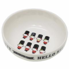 ハローキティ 小鉢 磁器製 スタッキングボウル ロンドンシリーズ 行進 サンリオ 日本製 キャラクター グッズ