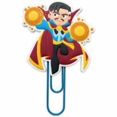 ドクターストレンジ マーベル クリップ ラバークリップ グリヒル 事務用品 キャラクター グッズ メール便可