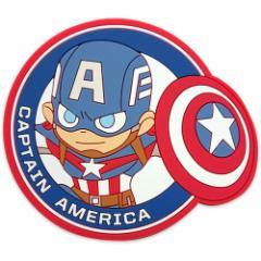 キャプテンアメリカ コースター ラバー コースター グリヒル マーベル コレクション キャラクター グッズ メール便可