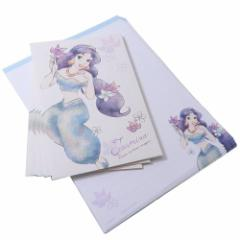 アラジン ジャスミン 手紙 レターセット MY LITTLE DREAM ディズニープリンセス 便箋 封筒 キャラクター グッズ メール便可