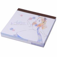 ふしぎの国のアリス メモ帳 スクエアメモ MY LITTLE DREAM ディズニー 文房具 キャラクター グッズ メール便可