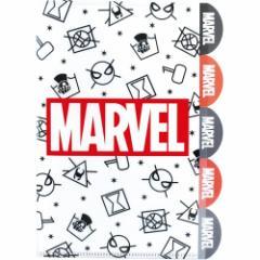 マーベル ファイル 5インデックス A4 クリアファイル マーク チラシ 小学生 中学生 書類整理 キャラクター グッズ