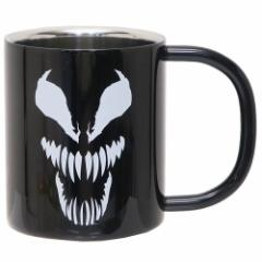 ヴェノム 保温 保冷 マグカップ 真空 ステンレス 二重マグ ブラック マーベル 300ml キャラクター グッズ