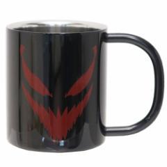 カーネイジ 保温 保冷 マグカップ 真空 ステンレス 二重マグ ブラック マーベル 300ml キャラクター グッズ