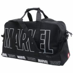 MARVEL ボストンバッグ 大容量 トラベル ボストンバッグ ビッグロゴ マーベル 57×36×26cm キャラクター グッズ