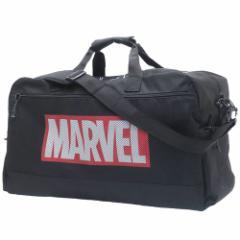 MARVEL ボストンバッグ 大容量 トラベル ボストンバッグ メッシュポケット マーベル 57×36×26cm キャラクター グッズ