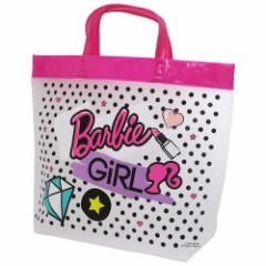 バービー プールバッグ ビニール 角型 トートバッグ 2019SS Barbie 36×29×10cm キャラクター グッズ