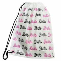 バービー ビニールバッグ ポリナップサック Barbie 40.5×50.5cm キャラクター グッズ メール便可