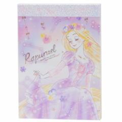 塔の上のラプンツェル メモ帳 ミニメモ ディズニープリンセス かわいい キャラクター グッズ メール便可