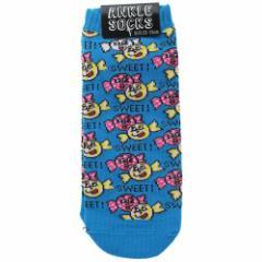 女性用靴下 レディース アンクル ソックス SWEET CANDY 23〜25cm プチギフト グッズ メール便可
