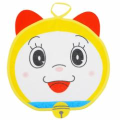 ドラえもん まんまる ループタオル ループ付き 顔型 ハンドタオル ドラミちゃん 30×30cm アニメキャラクター グッズ メール便可