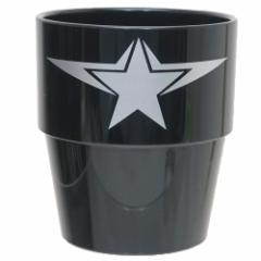 キャプテンアメリカ プラカップ スタッキング タンブラー S3 ブラック マーベル 250ml キャラクター グッズ