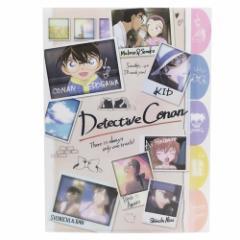 名探偵コナン ファイル ダイカット 5インデックス A4 クリアファイル 写真 新学期準備雑貨 アニメキャラクター グッズ