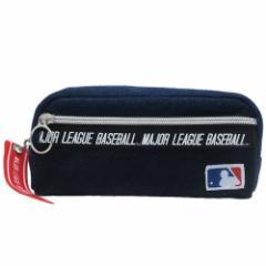 メジャーリーグベースボール 筆箱 メッシュポケット ペンケース ミックス MLB 新学期準備雑貨 キャラクター グッズ