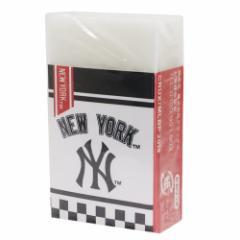 メジャーリーグベースボール 消しゴム まとまるくん ケシゴム ニューヨークヤンキース MLB 新学期準備雑貨 メール便可
