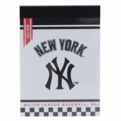 メジャーリーグベースボール メモ帳 ミニミニメモ ニューヨークヤンキース MLB 新学期準備雑貨 キャラクター グッズ メール便可